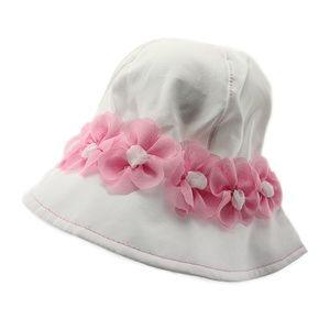 Baby Girls / Girl Pink Summer Hat (1539 Miriam)